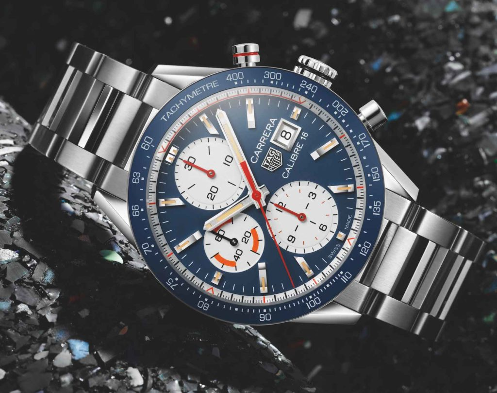 971c93bee432 ... Calibre 16 Chronograph Replica Watches from TAG Heuer. This new watch  comes with an accessible 41mm wide case