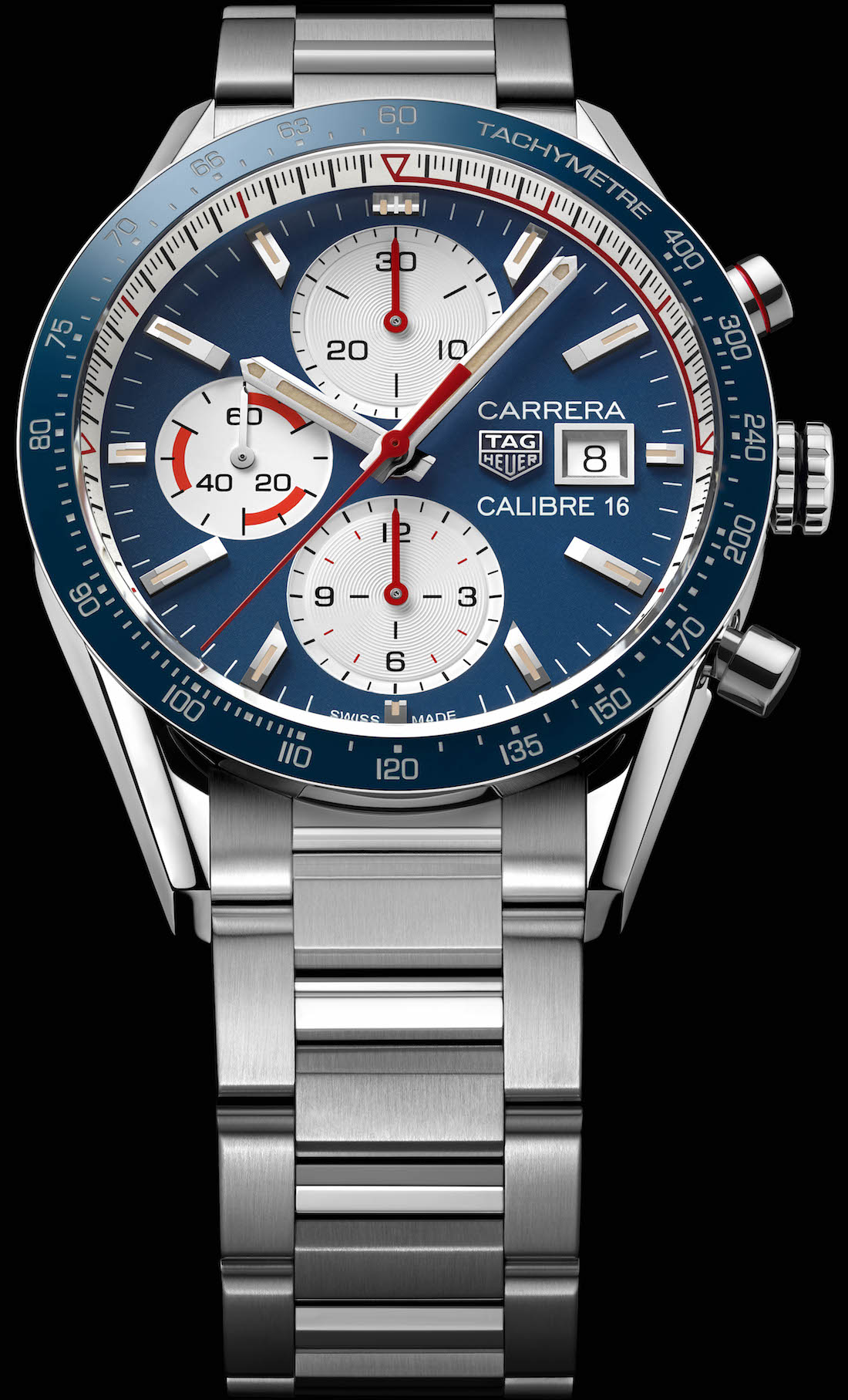 8903f9530334 Vintage-inspired watches continue to be popular and the new Carrera Calibre  16 Chronograph watches are a rather tasteful attempt by Tag Heuer Replica  ...